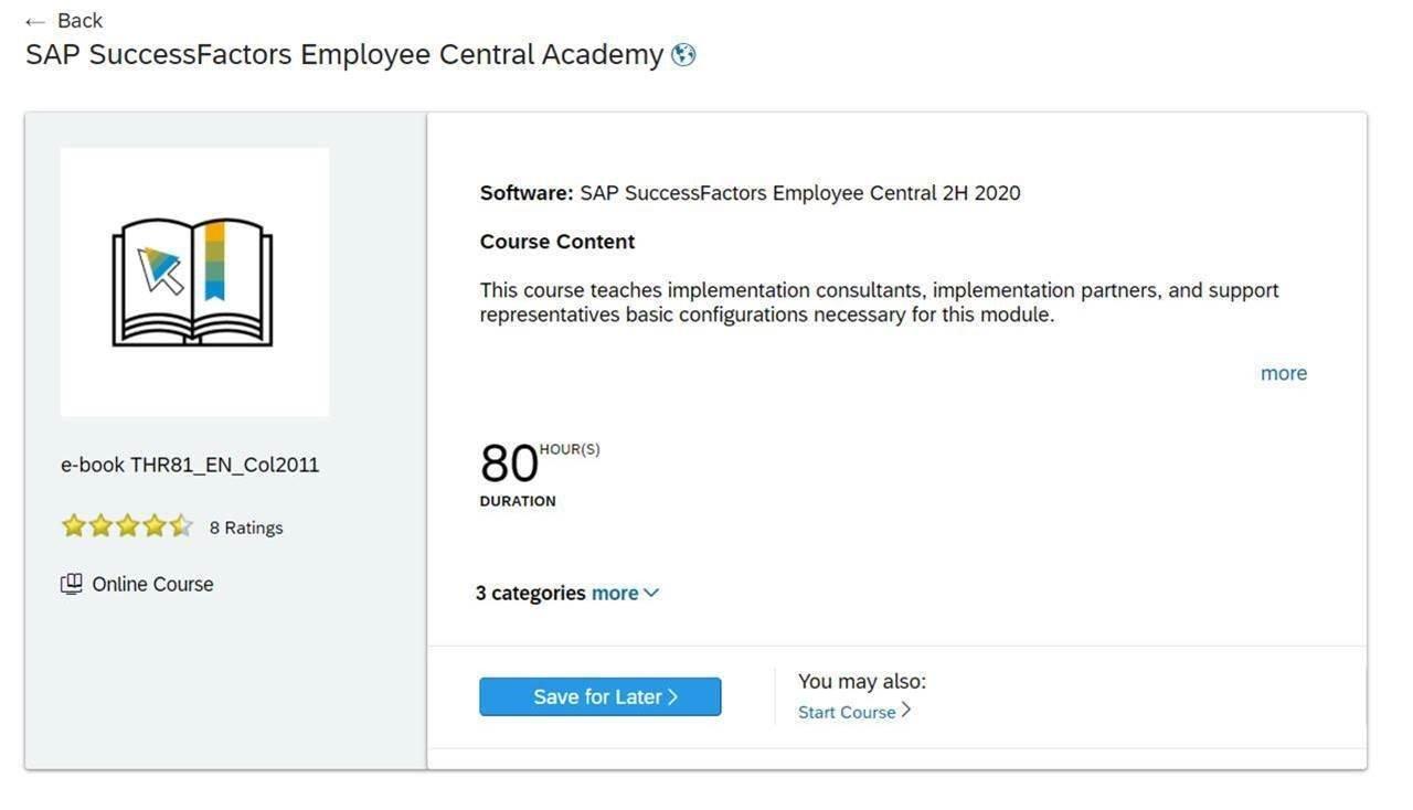 SAP Learning Hub 12