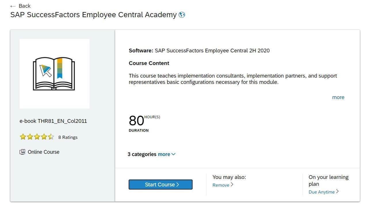 SAP Learning Hub 13