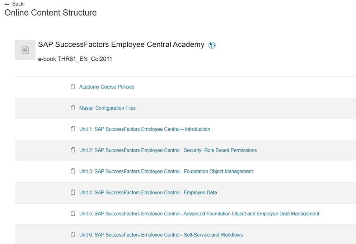 SAP Learning Hub 14