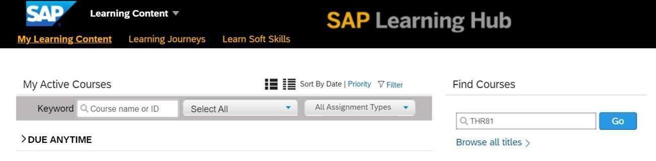 SAP Learning Hub 9